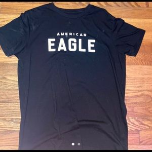 American eagle plain black tee